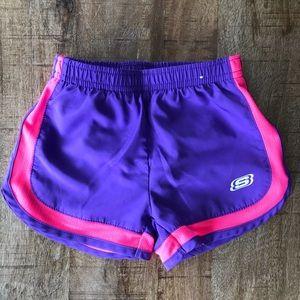 Little girls size 4 sketcher running shorts